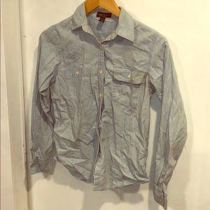LRL - Ralph Lauren Chambray shirt, size P